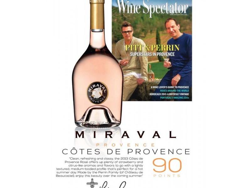 MIRAVAL_Rose_2013_Wine_spectator_90_punkte